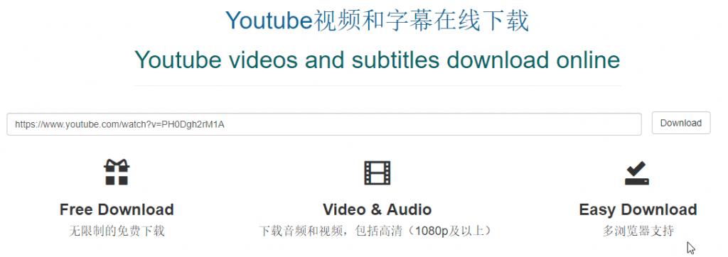 用 Findyoutube下载Youtube