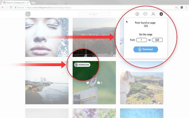 Chrome插件下载Instagram图片视频